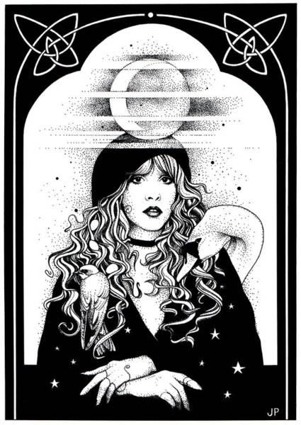 Drawing - Mistress Of My Faith by Johanna Pieterman