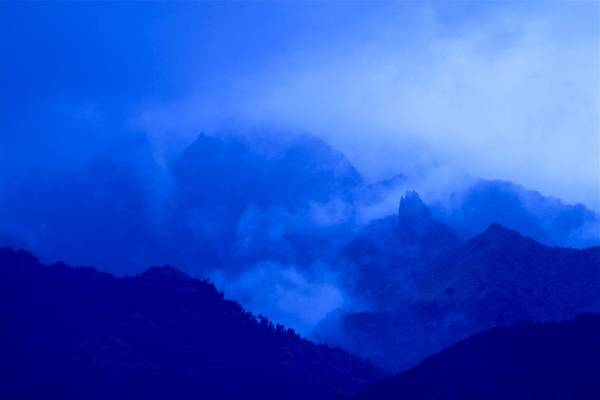 Wall Art - Photograph - Mists In The Valley by Nan Hauser