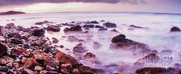 Trial Wall Art - Photograph - Misty Bay by Jorgo Photography - Wall Art Gallery