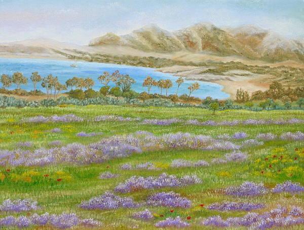 Painting - Misty Beach by Angeles M Pomata