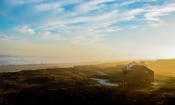 Photograph - Misty Beach by Brian Kinney