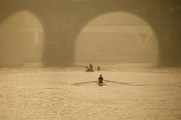 Wall Art - Photograph - Misty Day Along The Schuylkill by Bill Cannon