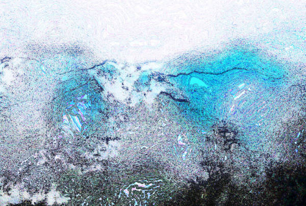 Liechtenstein Digital Art - Misty Desert Storm II by Carolina Liechtenstein