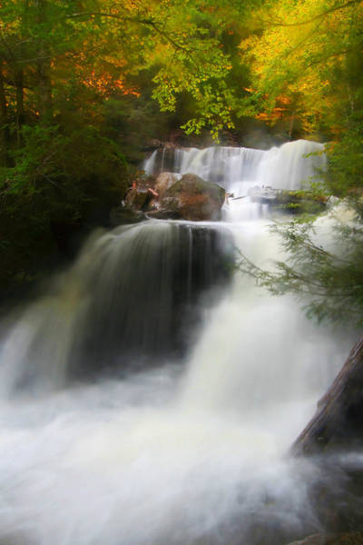 Catskills Photograph - Misty Fall by Neil Shapiro