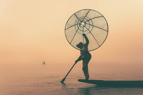 Photograph - Misty Inle by Marji Lang