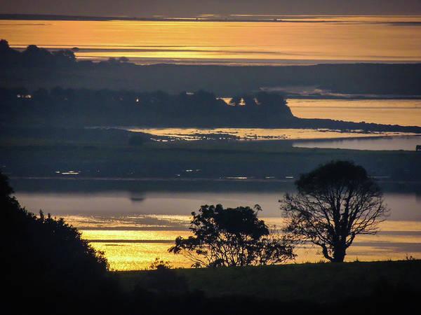 Photograph - Misty Irish Morning On The Shannon by James Truett