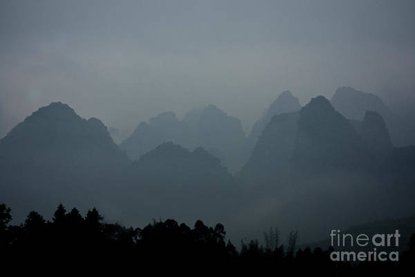 Wall Art - Photograph - Misty Karst Landscape by Dant� Fenolio