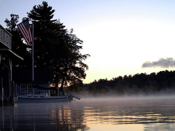 Photograph - Misty Lake by Newwwman