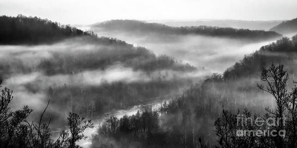 Photograph - Misty Morning Above Gauley River by Thomas R Fletcher