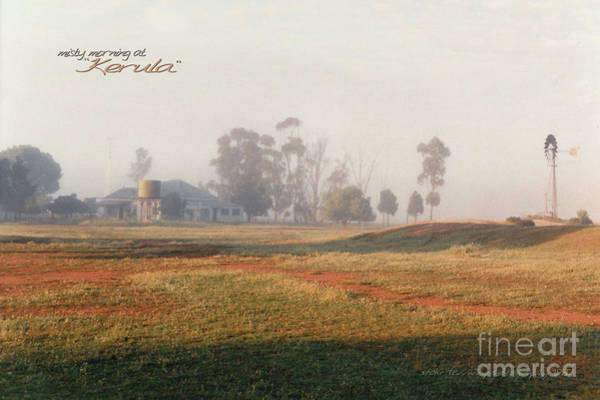 Photograph - Misty Morning At Kerula by Vicki Ferrari