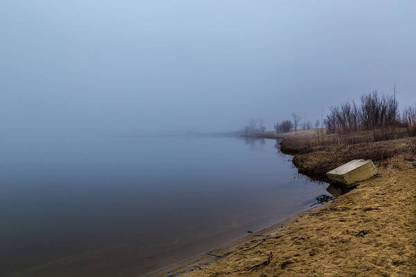 Photograph - Misty Morning By The Lake by Pete Hendley