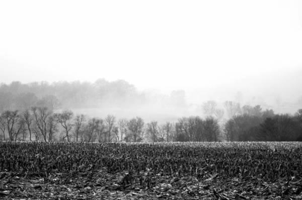 Photograph - Misty Morning Farmland by Susan Maxwell Schmidt