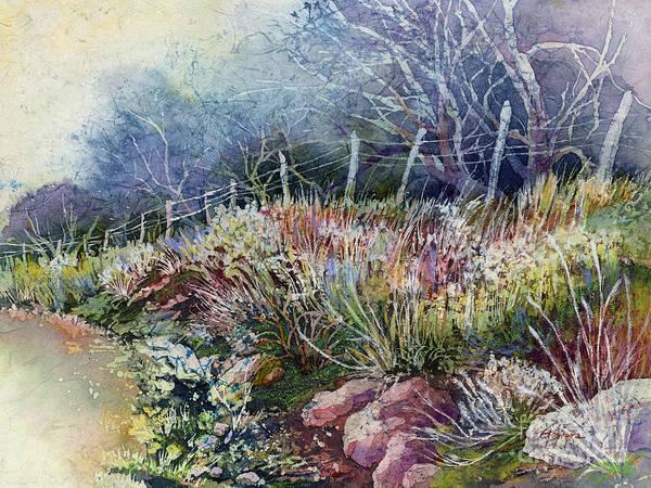 Painting - Misty Morning by Hailey E Herrera
