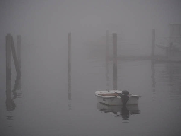 Photograph - Misty Morning In Maine by Robin Zygelman