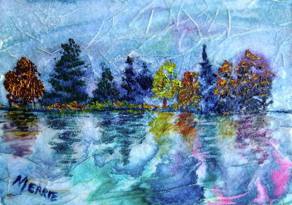 Painting - Misty Morning by Merrie Kapron Taverna