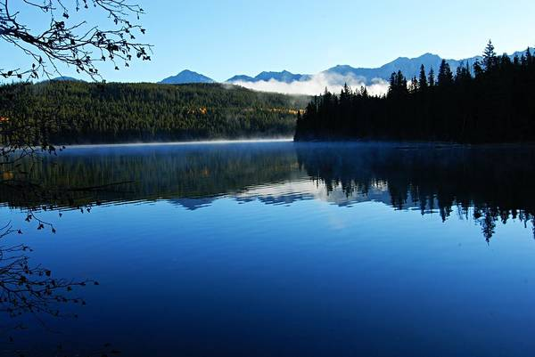 Photograph - Misty Morning On Pyramid Lake by Larry Ricker