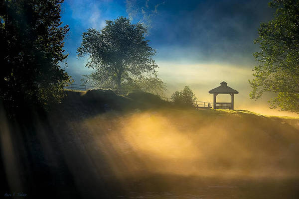 Photograph - Misty Morning On The Chattahoochee by Mark Tisdale