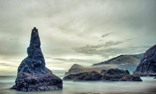 Photograph - Misty Morning On The Coast by Jedediah Hohf