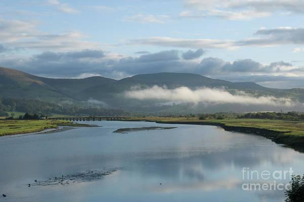 Photograph - Misty Morning On The Dyfi Estuary, Wales Uuk by Keith Morris