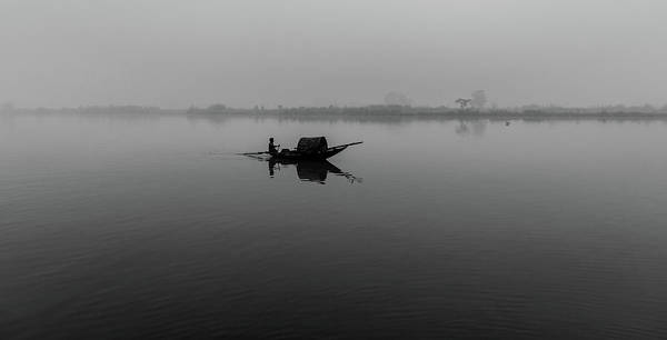 Photograph - Misty Morning On The Lower Ganges by Chris Cousins