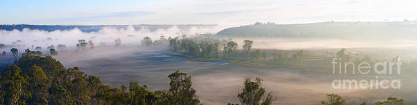 Wall Art - Photograph - Misty Morning On The Murray by Bill  Robinson