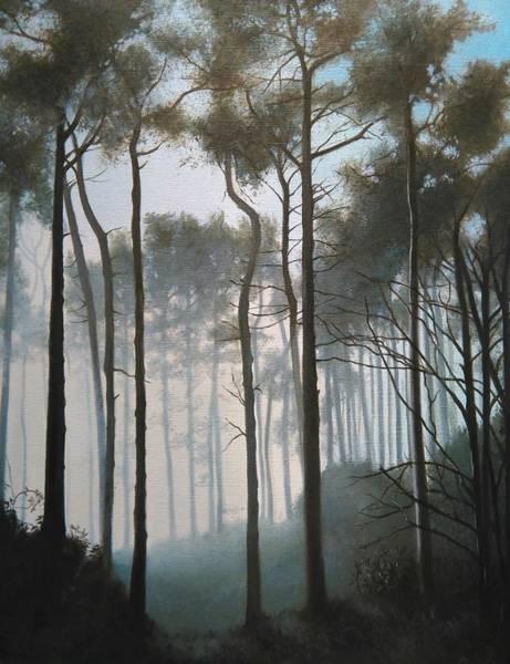 Painting - Misty Morning Walk by Caroline Philp