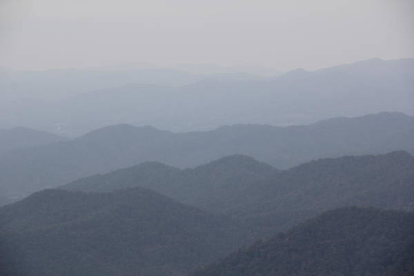 Photograph - Misty Mountains by Allen Nice-Webb
