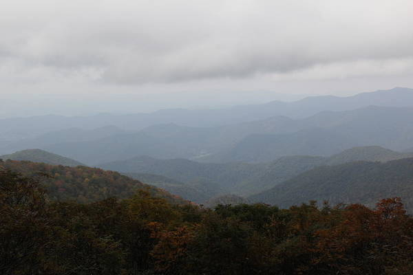Photograph - Misty Mountains More by Allen Nice-Webb
