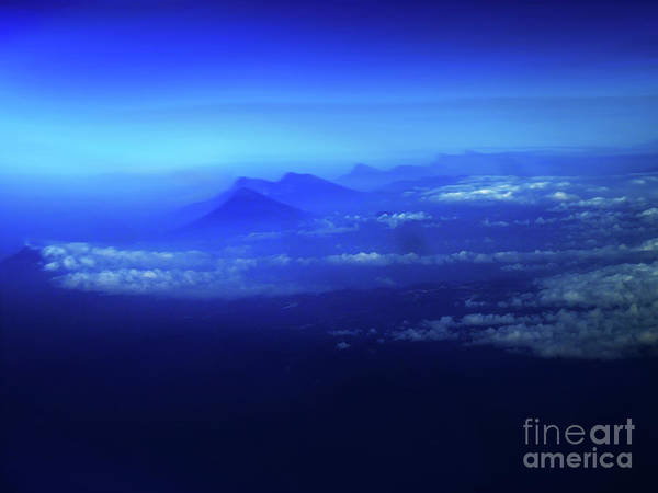 El Salvador Photograph - Misty Mountains Of El Salvador by Al Bourassa