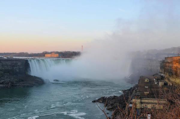 Photograph - Misty Niagara Falls by Bill Cannon