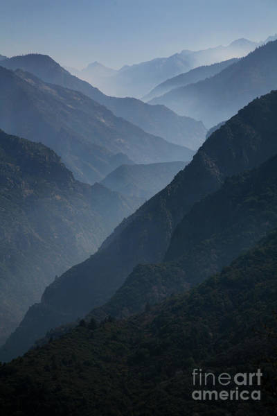 Photograph - Misty Peaks by Timothy Johnson