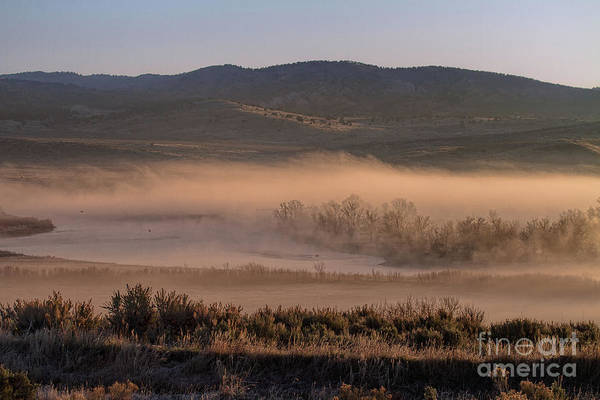 Photograph - Misty River by Jim Garrison