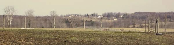 Photograph - Misty Rural Scene by Anne Cameron Cutri