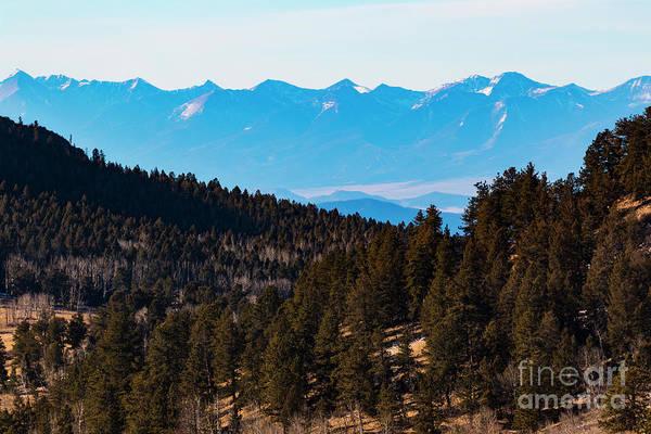 Photograph - Misty Sangre View by Steve Krull