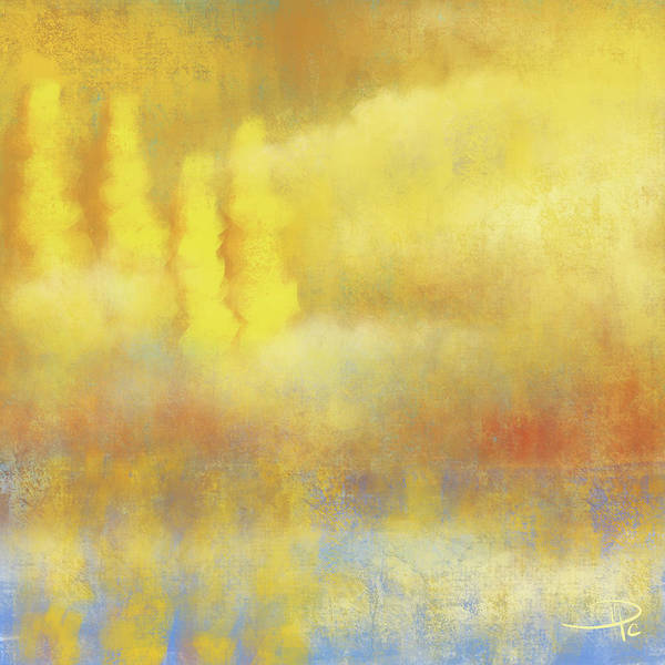 Wall Art - Digital Art - Misty Shore by David G Paul