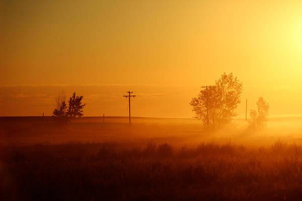 Photograph - Misty Sunny Morning by Todd Klassy