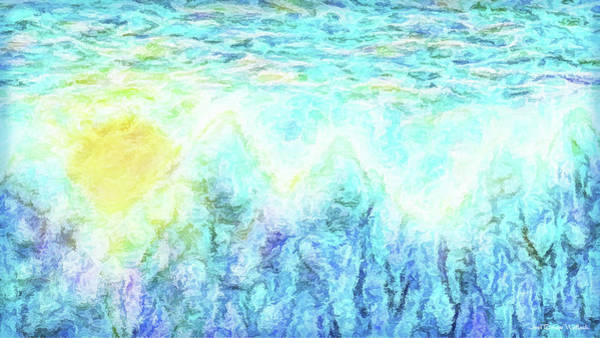 Digital Art - Misty Sunrise Awakening by Joel Bruce Wallach