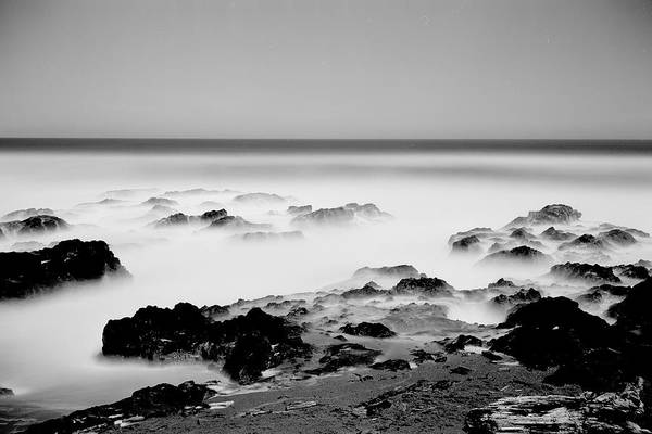 Photograph - Misty Surf by HW Kateley