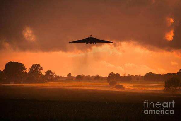 Black Buck Digital Art - Misty Vulcan Morning by J Biggadike