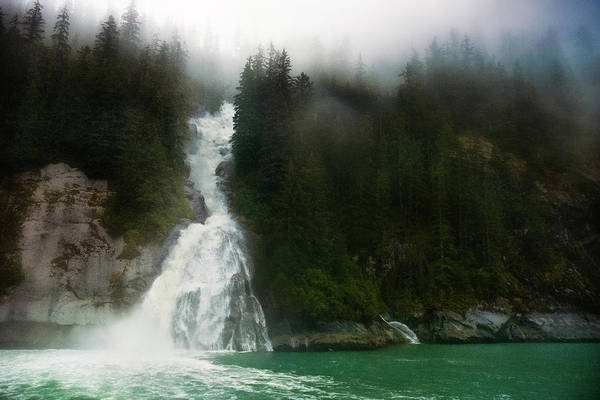 Photograph - Misty Waterfall  by Harry Spitz