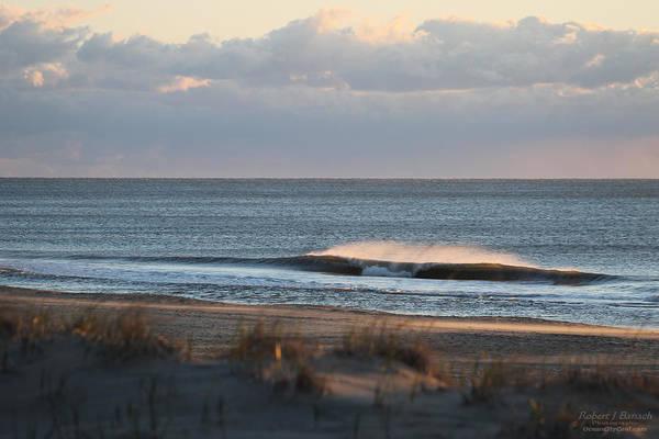 Photograph - Misty Waves by Robert Banach