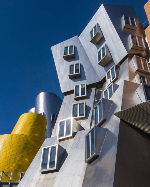 Photograph - Mit Stata Center Cambridge Ma Kendall Square M.i.t. by Toby McGuire