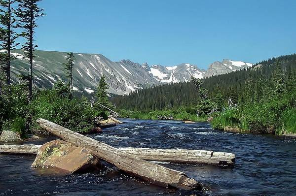 Photograph - Mitchell Creek High In The Rockies by NaturesPix