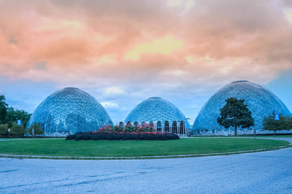 Wall Art - Photograph - Mitchell Park Conservatory,the Domes by Art Spectrum