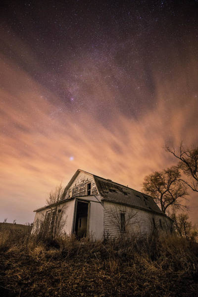 Wall Art - Photograph - Mitchell White Barn  by Aaron J Groen