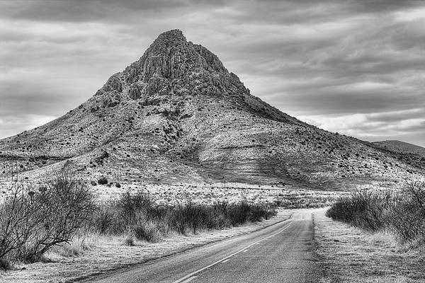 Wall Art - Photograph - Mitre Peak Texas by JC Findley