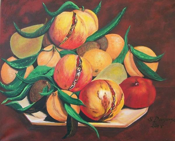 Painting - Mixed Fruit by Sharon Duguay