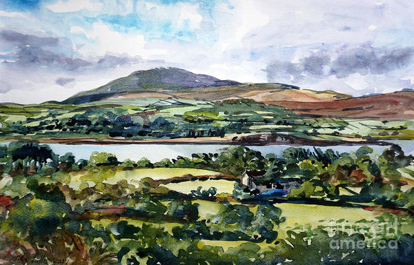 County Cork Wall Art - Painting - Mizen View County Cork by Tilly Willis