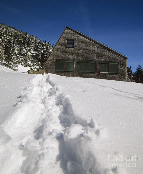 Photograph - Mizpah Spring Hut - White Mountains New Hampshire  by Erin Paul Donovan