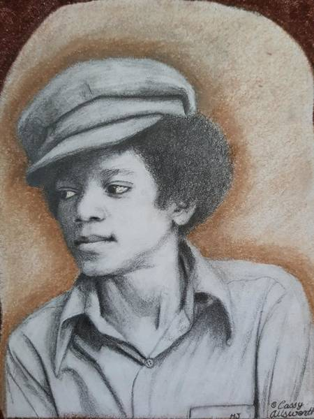 Drawing - MJ by Cassy Allsworth